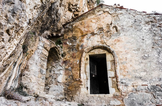 old church in ancient gortina - Lousios