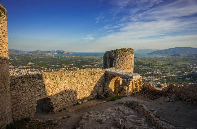 Argos Tour: the view from the castle of Argos
