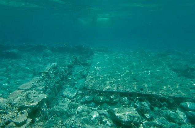 the Ancient sunken state of Epidaurus