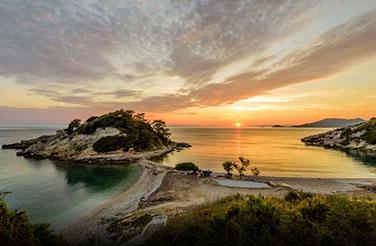 Ιδιωτικές Περιηγήσεις: η παραλία του Σίμου στην Ελαφόνησο από ψηλά