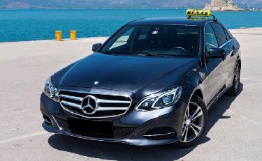 Μετακινήσεις Unique Greek Tours: ταξί Mercedes Benz