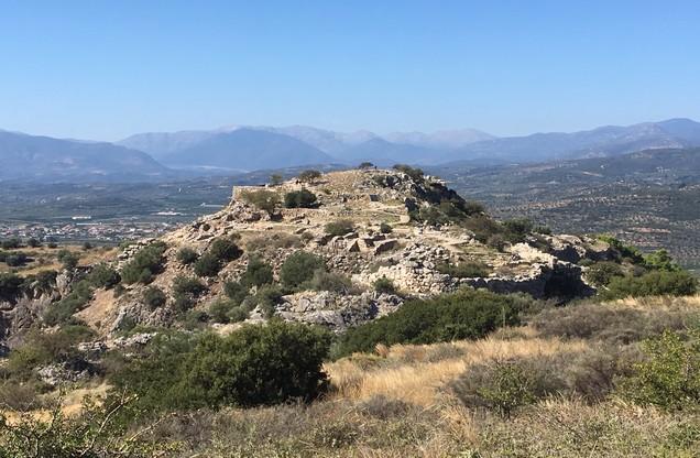 Θέα του λόφου στη Προσύμνη